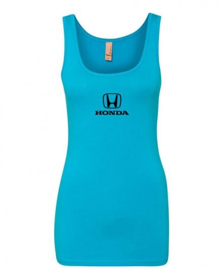 Honda Ladies Turquoise Long Tank Top