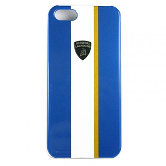 Lamborghini iPhone 5 Blue GT Stripe Case