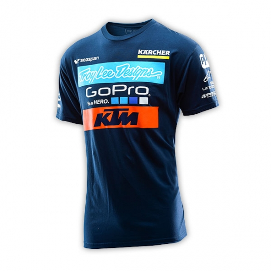 KTM TLD Team Navy Tee Shirt