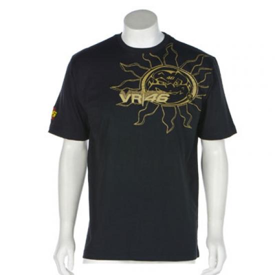 Valentino Rossi Black Sun Tee Shirt