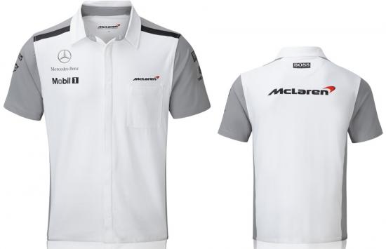 McLaren Mercedes F1 Team Crew Shirt 2014