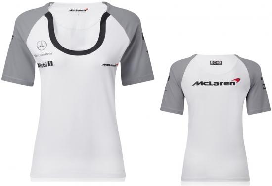McLaren Mercedes F1 Ladies Team Tee Shirt