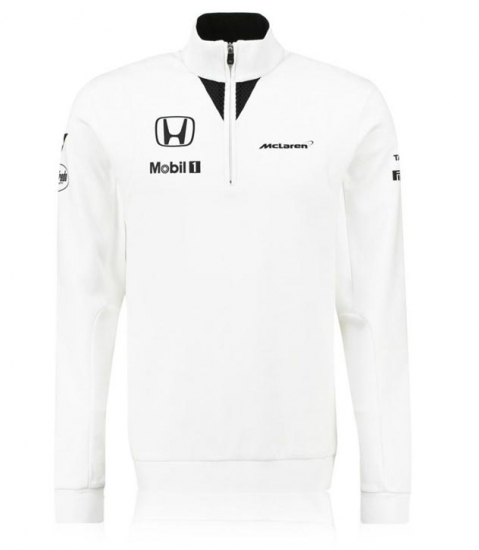 McLaren Honda F1 Team Zip Sweatshirt