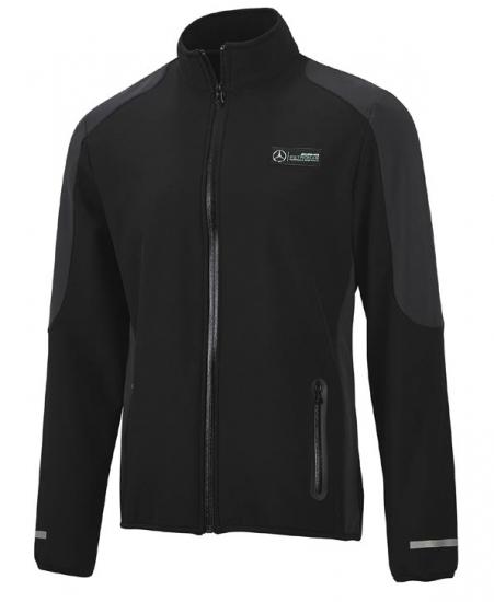Mercedes AMG Petronas Black Softshell Jacket