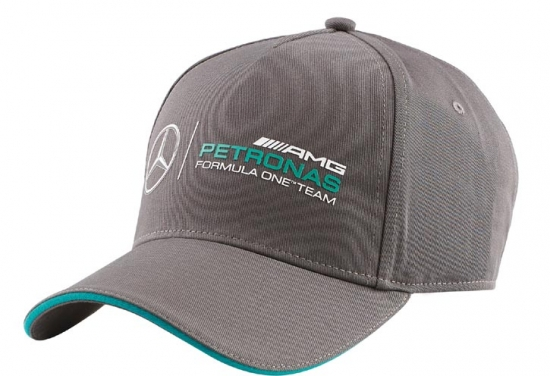 Mercedes AMG Petronas F1 Gray Team Hat