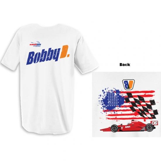 Newman Haas White Doornbos Car Tee Shirt