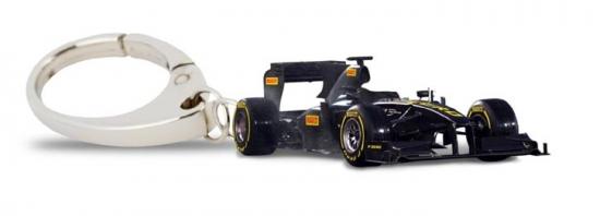 Pirelli Formula 1 Car Keychain