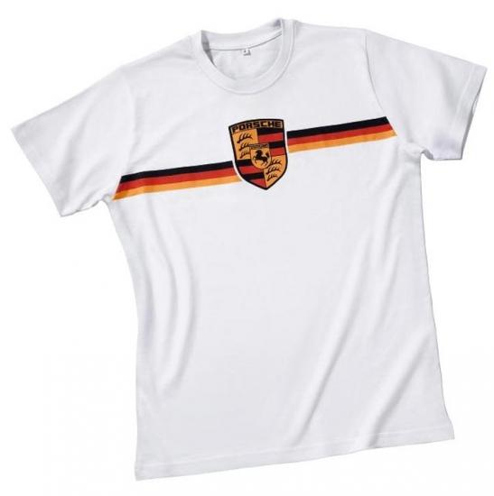 Porsche Crest Logo Tee Shirt