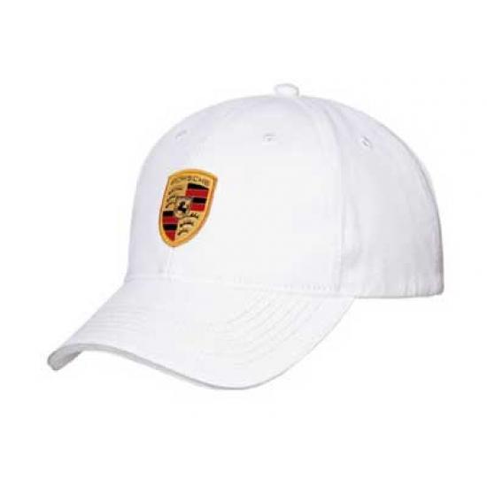 Porsche Crest White Hat