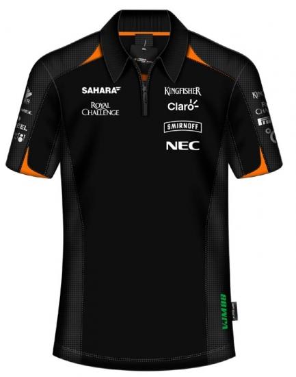 Sahara Force India Replica Team Polo Shirt