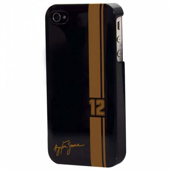 Ayrton Senna iPhone 4 Black Plastic Case