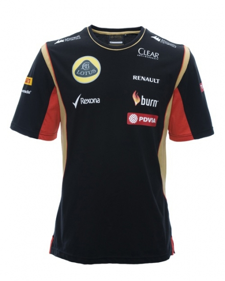 Lotus F1 Renault Team Tee Shirt