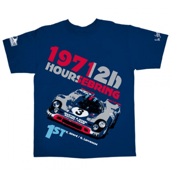 Hunziker Vic Elford 12hr Sebring Tee Shirt
