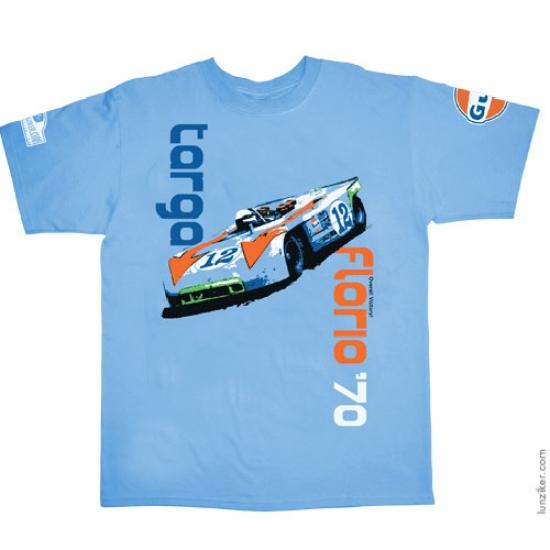 Hunziker Targa Florio 1970 Tee Shirt