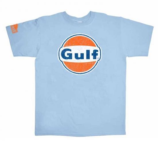 Hunziker Gulf Racing Logo Tee Shirt