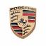 Porsche Crest Logo Pin