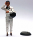 1:18th Jim Clark Figurine with Goggles-Helmet