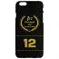 Ayrton Senna iPhone 6 Black Goldleaf Case