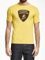 Automobili Lamborghini Yellow Shield Tee Shirt