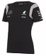 Mercedes AMG F1 Ladies Black Tee Shirt