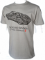 Porsche 550 Spyder Retro Grey Tee Shirt