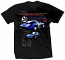 Corvette Grand Sport 1963 Retro Black Tee Shirt