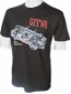 Porsche Carrera RS Retro Black Tee Shirt