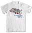 Porsche 935 Moby Dick Retro White Tee Shirt