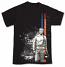 Steve McQueen Le Mans Vintage Black Tee Shirt