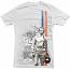Steve McQueen Le Mans Vintage White Tee Shirt