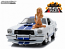 Charlies Angels Mustang Cobra II Farrah Fawcett 1976 Greenlight 1:18th