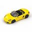 Porsche 981 Boxster S Yellow Spark 1:43rd Diecast Model