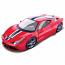 Ferrari 458 Speciale Red Bburago 1:18th