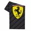 Ferrari Black Carbon Shield Towel