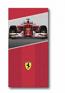 Ferrari Scuderia F1 Race Car Red Towel