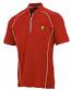 Ferrari Red Performance Zip Shirt