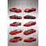 Ferrari GT Dream Machines Poster
