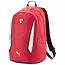 Puma Ferrari Red Replica Team Backpack