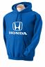Honda Blue Hooded Sweat Shirt