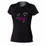 Honda Ladies Black Hearts Tee