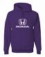 Honda Purple Hooded Sweat Shirt
