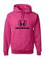 Honda Deep Pink Hooded Sweat Shirt