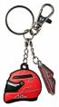 Michael Schumacher Helmet Keychain