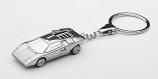 Lamborghini Countach Chrome Keychain