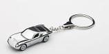 Lamborghini Miura Chrome Keychain