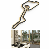 Linear Edge Nurburgring Track Wall Art