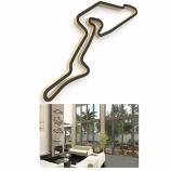 Linear Edge Nurburgring Track Wall Art
