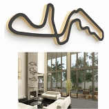 Linear Edge Suzuka Track Wall Art