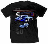Corvette Grand Sport 1963 Retro Black Tee Shirt