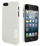 Carbon Fiber iPhone 5 White Case